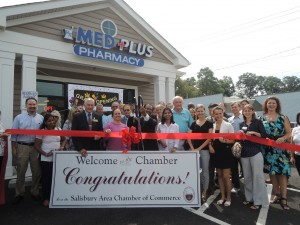 Grand opening of our client Med Plus Pharmacy 2014